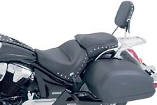 Mustang Wide Touring Two-Piece Studded Seat for 2000-2011 Yamaha V-Star 1100