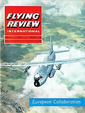 FLYING REVIEW INT JUN 65: CONCORDE COLLABORATION/ BREGUET ATLANTIC/ SIMULATORS