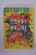Wired Magazine August 2014 Smart Phone Creative Explosion Sealed New
