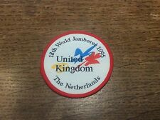 Vintage Cloth Patch Scout Badge MemorabilIa 18th World Jamboree Netherlands 1995