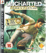 Uncharted: Drake's Fortune Sony Playstation 3 15+ Shooter Action Adventure Game
