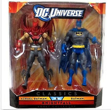 "DC Universe Legends Knightfall Saga BATMAN v AZRAEL BATMAN  6"" figure boxed set"