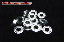 Metal Sealed RC Ball Bearing Kit Set Tamiya TL01 TL-01B Chassis Model sd