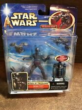 New Star Wars AOTC Jango Fett with Jetpack and Snap-On Armor! Action Figure