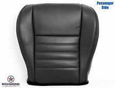 2000 Ford Mustang GT -Passenger Side Bottom Perforated Leather Seat Cover Black