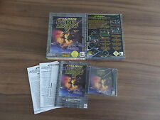 PC juego * Star Wars Rebel Assault 2 the hidden Empire * Big Box OVP + instrucciones