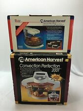 Convection Perfection Oven by American Harvest  200T W/ Expander Ring Both NEW!!