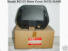 Suzuki RG125 Meter Cover Lower NOS Gamma CLOCK CASE Gauge Instrument Tray