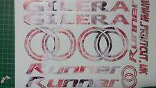 GILERA Runner calcomanías/Pegatinas Exclusivo Diseño Nota £ 50-Sp Vx FXR VXR 125 172