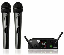 AKG WMS 40 Mini 2 Dual Vocal UHF Wireless Set WMS40 MINI2 Sealed Box NEW!!