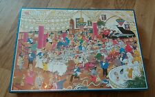 JUMBO JAN VAN HAASTEREN 1000 PIECE COMIC JIGSAW PUZZLE NEW & SEALED THE WEDDING