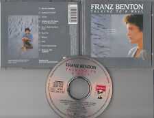Franz Benton CD TALKING TO A WALL (c) 1986  ARIOLA EURODISC