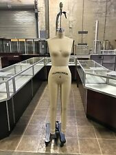 Female Full Size 4 Professional Working dress form Mannequin w/Leg #F4