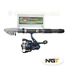 NGT Namazu Mini Travel Telescopic Holiday Fishing Rod & Reel Combo