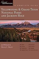 Explorer's Guide Yellowstone & Grand Teton National Parks and Jackson -ExLibrary