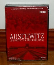 AUSCHWITZ-LOS NAZIS Y LA SOLUCION FINAL-PACK 4 DVD-NUEVO-PRECINTADO-NEW SEALED