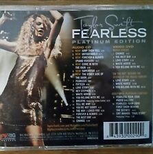 Fearless : Platinum Edition - TAYLOR SWIFT - [Bonus Tracks] CD/DVD  Rare! *NEW