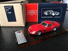 AMR Ferrari 250 GTO 1962 Red kit ref 5000 JPM 1/43 BBR