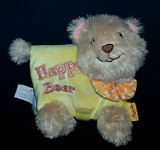 Soft Play HAPPY BEAR Plush Book Rattle Toy