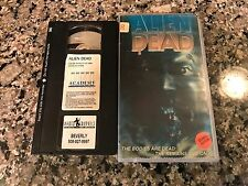 The Alien Dead VHS! 1980 Southeast Swamp Alien Terror! Video Dead Predator ET