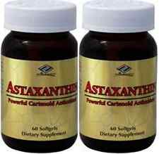 2 x Astaxanthin Powerful Cartenoid Antioxidant 10 mg 120 Softgels 4 month supply