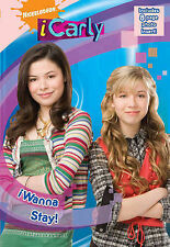 """I Wanna Stay! (iCarly), Nickelodeon, """"AS NEW"""" Book"""