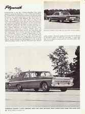 1965 PLYMOUTH FURY / BELVEDERE  ~  NICE ORIGINAL NEW CAR PREVIEW ARTICLE / AD