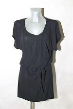 dress robe sexy en viscose noir COMPTOIR DES COTONNIER taille M  EXCELLENT ÉTAT