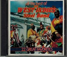THE WEST INDIES STEEL BAND - ALL THE BEST - 22 FAVORITES - MINT CD