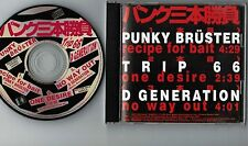 PUNK SANBON SHOBU JAPAN PROMO-ONLY CD XDCS 93233 D Generation,TRIP 66, P.Brüster