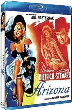 Arizona Marlene Dietrich, James Stewart, George Marshall BLURAY BRAND NEW