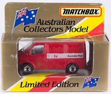Matchbox MB 60 Ford Transit Australia Post China Casting 1981 MIB