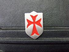 Pin Templer Kreuzritter Orden Schild - 2,5 x 2 cm