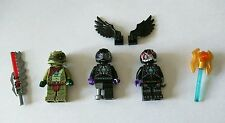 Lego - Legends of Chima Mini figures + Weapons & Accessories