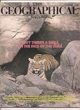 the geographical magazine-OCT 1988-WHY THERE'S A SMILE ON THE FACE OF TIGER.