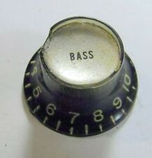 1970 Gibson BASS Knob- Les Paul Bass Recording Professional Personal Triumph