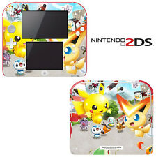 Vinyl Skin Decal Cover for Nintendo 2DS - Pokemon Rumble Blast