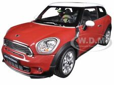 MINI COOPER S PACEMAN RED 1:24 DIECAST CAR MODEL BY WELLY 24050