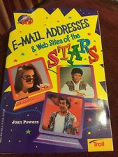 Email Addresses & Websites Of The Stars Book By Troll 1997 Jonathan Taylor Thoma