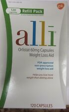 *BRAND NEW alli® Weight Loss Aid, Orlistat 60mg Capsules,120ct Refill  EXP 2017