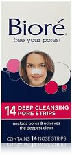 Biore Deep Cleansing Pore Strips For Nose - 14 Ea