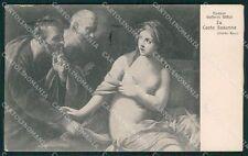Firenze Città Galleria Uffizi Reni cartolina XB5104