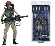 "NECA ALIENS SERIES 9 MARINE PRIVATE JENETTE VASQUEZ 7"" ACTION FIGURE - 18cm"