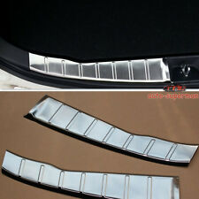 Inner Rear door Bumper Protector Sill Plate Trim For Mitsubishi ASX RVR 2010+