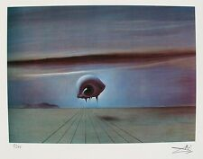 Salvador Dali THE EYE from SPELLBOUND Facsimile Signed & Numbered Giclee Art