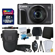 Canon PowerShot SX720 HS Digital Camera +32GB + More Complete Valued Bundle