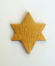 Jewish Star Medallion for Cold Cast Bronze or Cultured Wood Infinity Urn