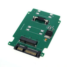 1PC mSATA Mini PCI-E SATA SSD To 7+15 Pin 22 pin SATA Adapter Card