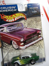 2002 HOT WHEELS 'CRUISIN' AMERICA 1957 CHEVROLET W/ REAL RIDER TIRES