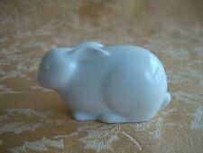 VINTAGE TIRSCHENREUTH ALT WHITE PORCELAIN BUNNY RABBIT FIGURINE GERMANY ART DECO